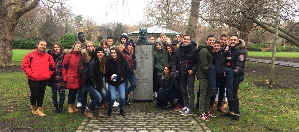 Viaje escolar y cultural a Dublín 2017