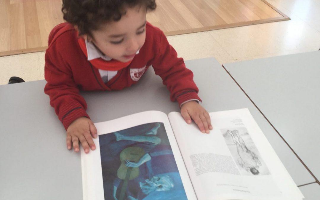 En Infantil estudiamos la obra de Pablo Picasso | Educación Artística