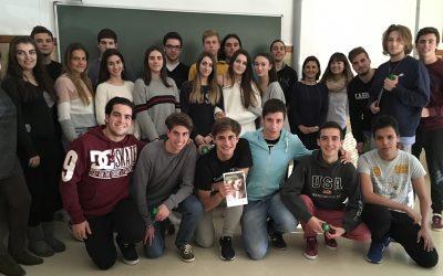 """Nos visita la Universidad Católica de Valencia con el lema """"Comprometidos contigo"""" #empleabilidaducv"""