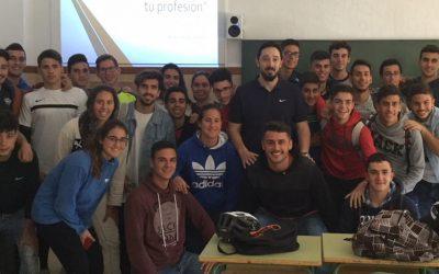 Christian Crudeli dando lo mejor a nuestros alumnos, su experiencia