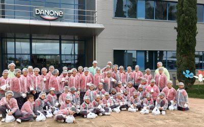 Visitamos la fábrica de Danone dentro de las actividades programadas del proyecto Educación para la salud.