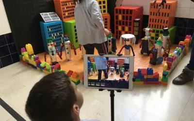 """¿Crees que un niño o niña de 4 o 5 años puede ser capaz de crear una película animada? Nosotros sí   Proyecto: """"ROBOT CITY"""""""
