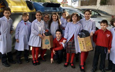 Proyecto de reciclaje: Salvemos el mar