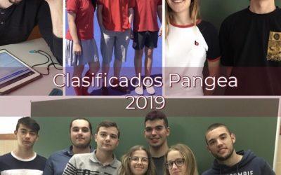 Concurso Pangea. Clasificados segunda ronda