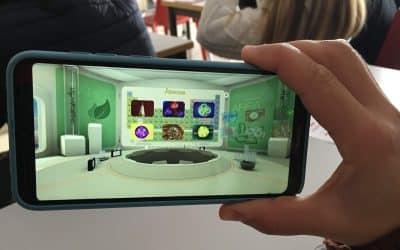 Nos visita la Universidad Europea de Valencia. Talleres: Investigación Forense-Realidad virtual y aumentada