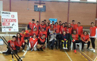 Comprometidos como voluntariado en el «II Encuentro deportivo de Boccia Adaptada- ASMISAF»