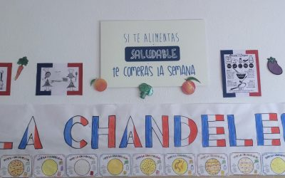 Pour fêter La Chandeleur nous avons cuisiné les crêpes typiques.