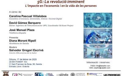 5G La revolución inminente. Cercle d'Economia de la Safor