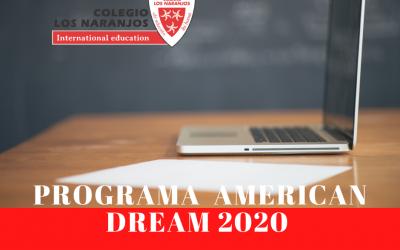 Participamos un año más en el Programa AMERICAN DREAM…pero esta vez online