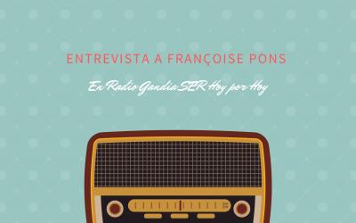 Entrevista a Françoise Pons Catalá y Alejandro Arlandis Monzó en Hoy por Hoy de Radio Gandia Cadena SER por los resultados de la PAU 2020