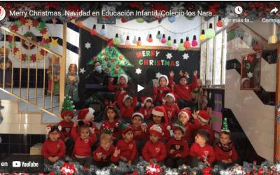 Os desean Feliz Navidad nuestros niños y niñas de Infantil