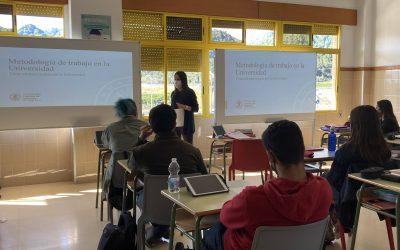 Nos visita la UCV con su oferta formativa 2021-2022