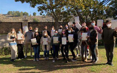 Nuestro alumnado de 2Bachillerato acredita su competencia en lenguas extranjeras (PTE). Exámenes oficiales Pearson Test of English.