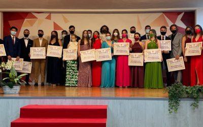 Acto Conmemorativo de Entrega de Orlas 2021 Bachillerato 2019-2021