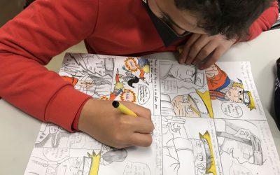 La imaginación y la creatividad invaden las aulas. El cómic considerado el noveno arte
