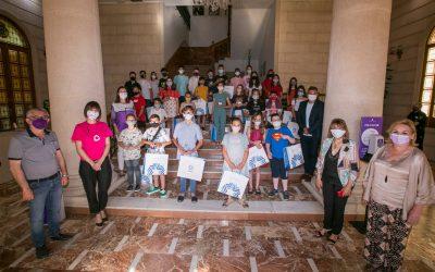 Consell de la Infancia de Gandia. Ángela Colomar y Natalia Orts presentan sus propuestas