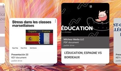APRENDIZAJE COLABORATIVO: ¿Qué estresa a los estudiantes franceses y españoles?